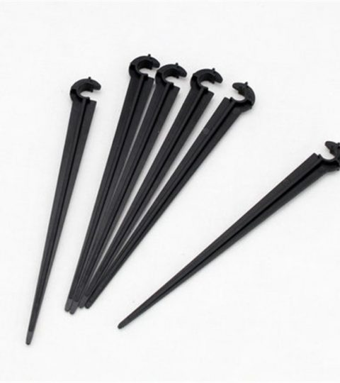 50pcs-pack-support-stake-8cm-length-1-4-hose-fitting-4-7mm-font-b-pipe-b