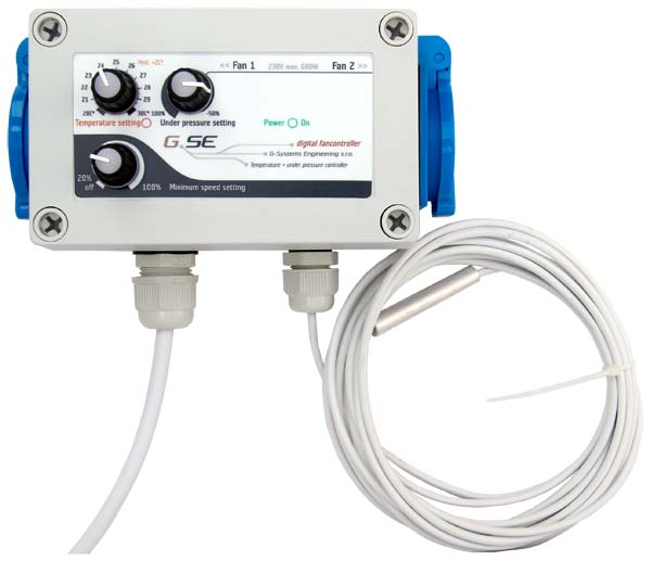 GSE Fan controller Temp Pressure