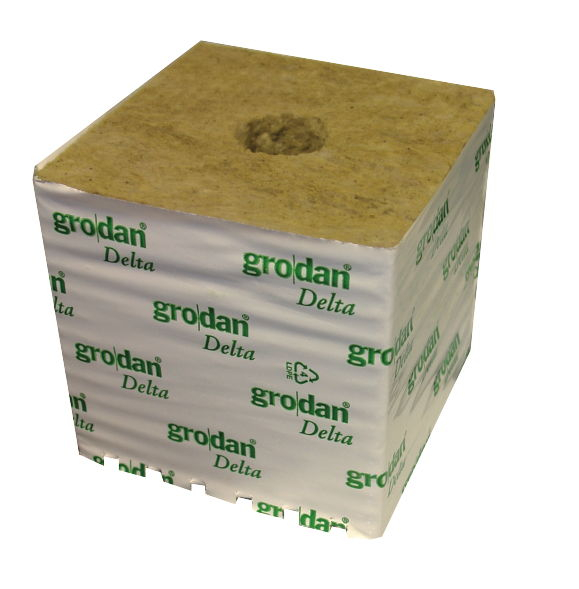 "6"" Rockwool Block"