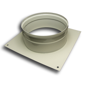 Wall Spigot Plate 100mm