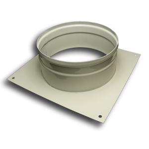 Wall Spigot Plate 200mm