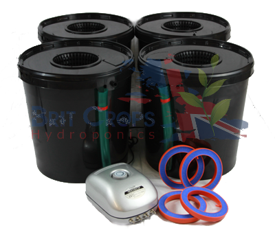 DWC 4 Oxy Pot Bubbler Kit