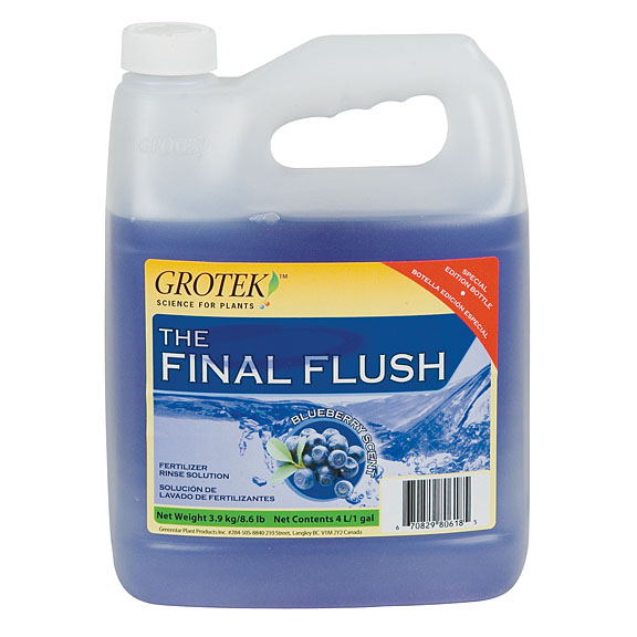 GroTek Final Flush BlueBerry 1L