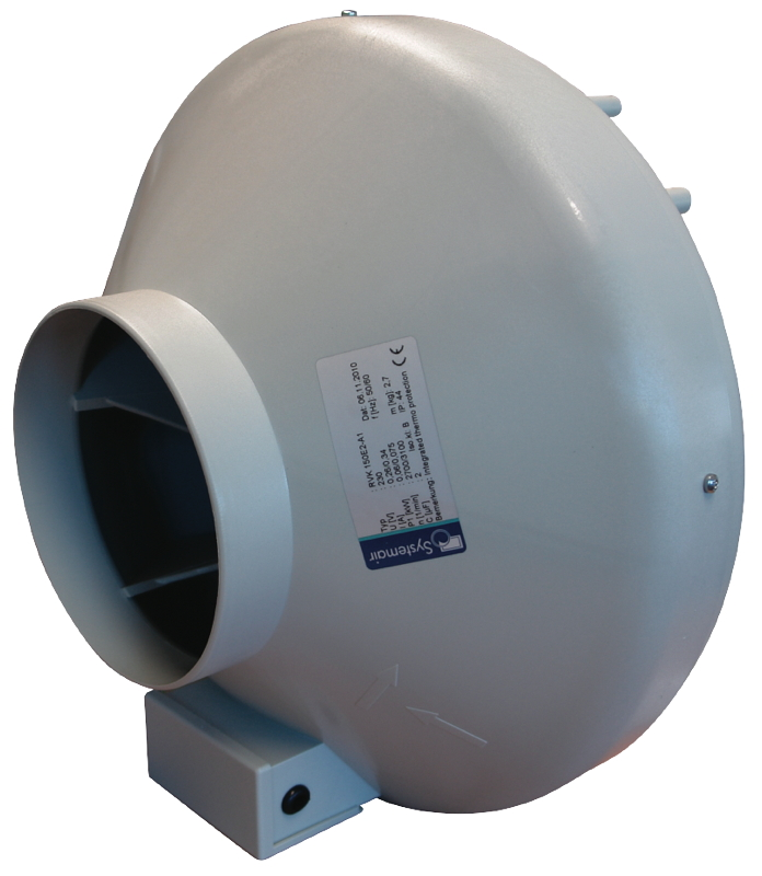 SystemAir RVK In Line 100mm 4″ Fan