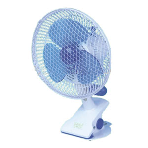 Clip On Oscillating Fan 8""