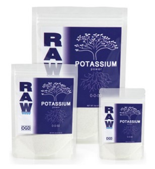 RAW = SOLUBLE Potassium 2oz