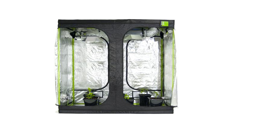 Green Qube 2m x 2m x 2.2m.