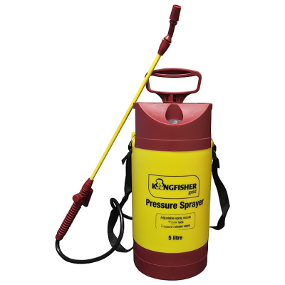 Kingfisher 5L pressure sprayer.
