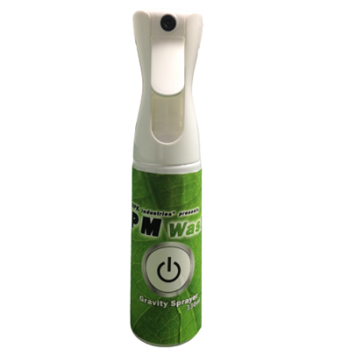 PM wash gravity sprayer 330ml
