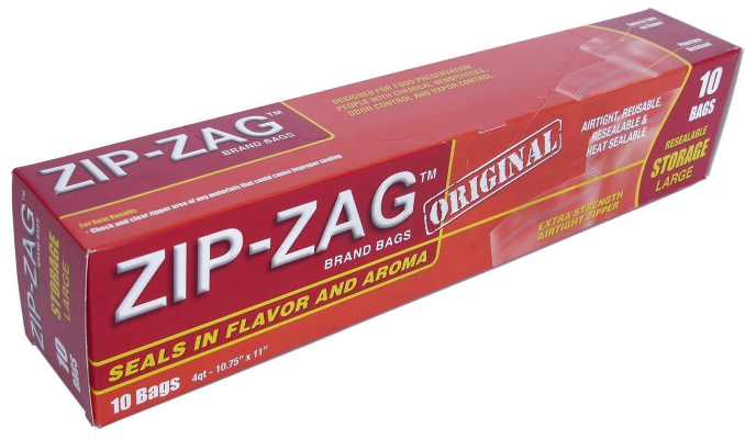 ZIP-ZAG Large Leak Proof Bags